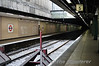The disused former Midland Platforms at Moorgate which closed as part of the Thameslink upgrade. Fri 14.05.10