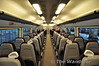The refurbished standard class interior in the DTSO of 2414. Overall I think it is a very drab refurbishment and a big come down from what was there before. Fri 14.05.10