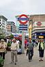 Underground Sign at Uxbridge.  Sun 15.05.11