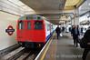 A60 Stock 5012 at Uxbridge with a Metropolitan Line train to Harrow-on-the-Hill. Sun 15.05.11