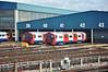 Units 11023 and 11039 at Northumberland Park Depot. Sun 15.05.11
