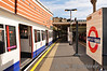 An A60 stock train at Finchley Road.  Mon 17.10.11