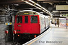 End of the line for 5116 at Baker Street. Mon 17.10.11