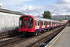 New S8 Stock 21011 brings up the rear of a Metropolitan Line service to Baker Street.  Mon 17.10.11