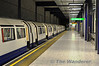Piccadilly Line Departure Platform at Heathrow Terminal 5. Sat 09.06.12