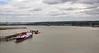 View from the Queen Elizabeth II Bridge looking West. Sat 09.06.12