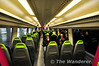 The interior of the C2C Class 357 units used on surburban services from London Fenchurch Street. Sat 09.06.12