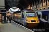 43277 at the rear of the 1801 to London Kings Cross at York.  Wed 17.10.12