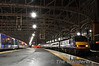 90024 stands at the head of the 2340 Sleeper train to London Euston.  Wed 17.10.12
