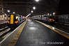 380021 and 90024 at Glasgow Central.  Wed 17.10.12