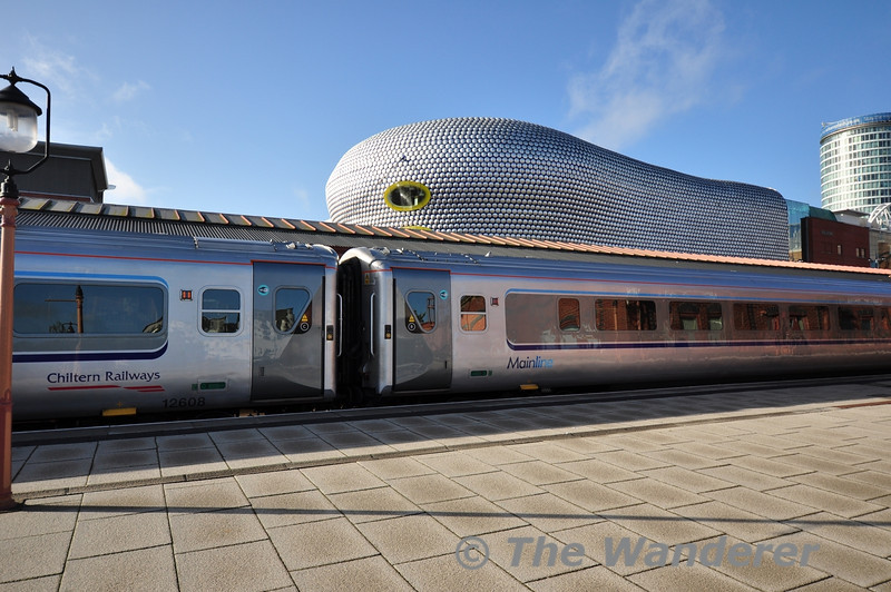 Chiltern Mainline and Birmingham's Bull Ring. Wed 17.10.12