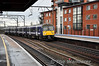360112 arrives at Chelmsford with the 1002 London Liverpool Street - Ipswich. Thurs 19.01.12