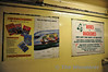 """Richmond Station is currently undergoing refurbishment. Part of this work has seen the removal of the poster display frames (see <a href=""""http://www.nationalrail.co.uk/stations/sjp/RMD/images/photos/800/o2887-0000084.jpg"""">http://www.nationalrail.co.uk/stations/sjp/RMD/images/photos/800/o2887-0000084.jpg</a>) which has unearthed some gems of Posters from the 1980's. <br /> <br /> These three posters show adverts for Golden Rail Holidays, Intercity and Squires Garden Centre on Six Cross Road, Twickenham. Thurs 19.01.12"""