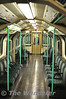 Interior of Waterloo and City Line 92 Stock vehicle 67510. Thurs 19.01.12