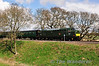 37905 returns to Alresford with the 1425 from Alton and is pictured at Rookwood Lane. Sat 27.04.13