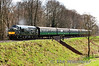 37905 crosses Rookwood Lane with the 1425 Alresford - Alton. Sat 27.04.13