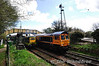 66738 and D9009 (55009) cross at Ropley.  Fri 26.04.13