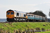 66738 hauls 3417 through Wanders Curve with the delayed 1705 Alresford - Alton. The 66 took over at Ropley after 33109 failed. Sat 27.04.13