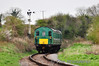 1125 passes the distant signal for Alresford with the 1212 Ropley - Alresford. Sat 27.04.13