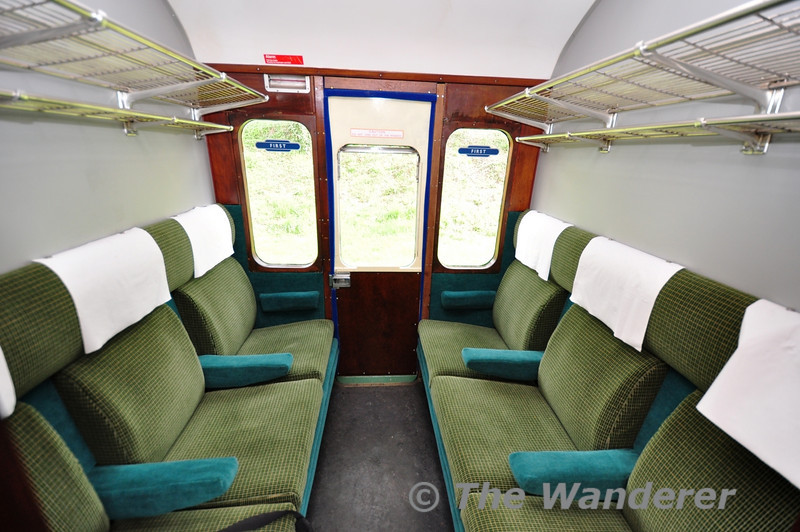 First Class Compartment on 1125.  Fri 26.04.13