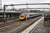 In the opposite direction the 0935 Manchester Piccadilly - London Euston passes through Tamworth. Thurs 25.04.13