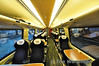 First Class vehicle interior of 221101 at Holyhead.  Thurs 25.04.13