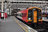 159006 + 158886 await departure from London Waterloo with the 0710 to Exeter St. Davids.  Fri 26.04.13