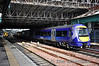 170395, built for use with Hull Trains is now used by First Scotrail. It is pictured in platform 16 at Edinburgh. Sun 28.04.13