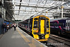 158728 stands at Platform 17 in Edinburgh. It is awaiting 170458 to arrive and the pair will be forming the 1750 to Perth. Sun 28.04.13