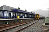 Kyle of Lochalsh Station. 158711 had arrived with the 0900 from Inverness. Mon 29.04.13