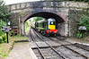 D8059 arrives into Arley with the 1123 Kidderminster - Bridgnorth. Fri 04.10.13
