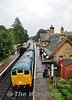 24081 at Arley with the 1206 Bridgnorth - Kidderminster. Thurs 03.10.13