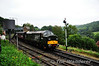 D6700 departs Highley with the 1118 Bridgnorth - Kidderminster. Thurs 03.10.13