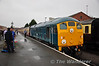 24081 prepares to depart Kidderminster with the 0955 to Bridgnorth. Thurs 03.10.13