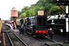 Shunters 12099 + D3201 at Bewdley with the 1010 to Kidderminster. Thurs 03.10.13