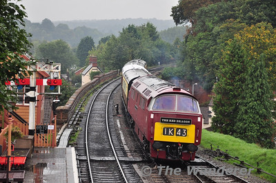 D1062 arrives into Bewdley to form the 1511 to Kidderminster. Thurs 03.10.13