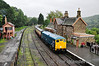 24081 arrives into Highley Station with the 1206 Bridgnorth - Kidderminster. Thurs 03.10.13