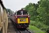 D1062 at Hampton Loade with the 1030 Bridgnorth - Kidderminster. Thurs 03.10.13
