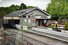 The Conwy Valley Line at Betws-y-Coed. Thurs 23.05.13