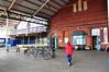 The basic and rundown concourse at Llandudno. Thurs 23.05.13