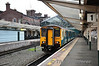 150227 waits to depart Chester with the 0855 to Crewe. Wed 02.10.13
