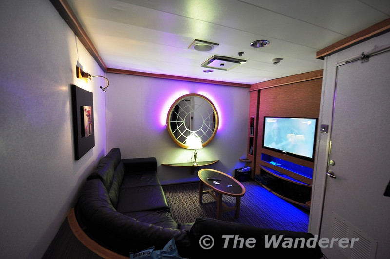 "My Four Berth Private Lounge on the Stena Nordica 02.15 Sailing Dublin to Holyhead. On my <a href="" http://thewandererphotos.smugmug.com/International/2013/UK-Trip-25-04-13/i-sVKhPKv"" target=""_blank"">previous trips</a> on board this ship I purchased a two berth lounge, for an extra €10 you can get the four berth lounge and have a leather couch to sleep on. Tues 02.10.13"