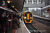 158825 + 158829 arrives at Wolverhampton bound for Birmingham Int. Thurs 03.10.13