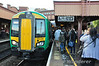 172334 1623 Kidderminster - Stratford Upon Avon at Birmingham Moor Street. Fri 04.10.13