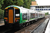 172334 at Kidderminster after terminating with a service from south of Birmingham. Fri 04.10.13