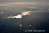 The sun glints off Lough Derg. Tues 12.11.13