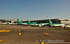 Aircraft on stand at DUB Terminal 2. Tues 12.11.13
