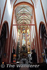 Interior of the Parafia Wojskowo in Wroclaw. Thurs 31.01.13