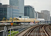 The new Crossrail Station takes shape at Canary Wharf. Fri 08.08.14
