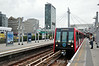 DLR 148 arrives at Poplar bound for Stratford. Fri 08.08.14